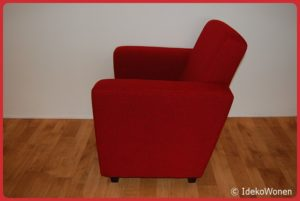 Fauteuil 'Eddie' Rood