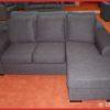 Hoekbank ''Victor'' 3+chaise Antraciet