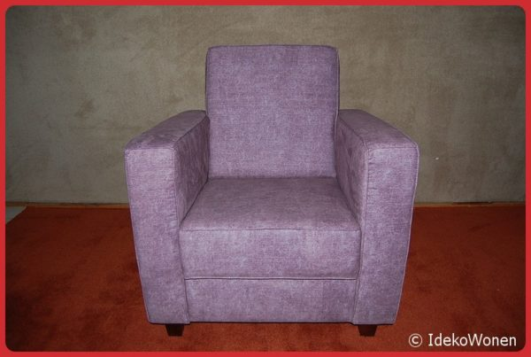 Fauteuil 'Enno' Paars