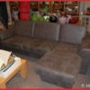 Hoekbank ''Thijs'' 3+chaise Grijs R.V