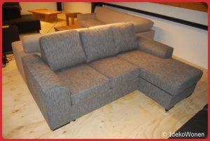 Hoekbank ''Victor'' 3+chaise Grijs