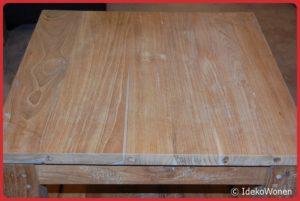Salontafel Teakhout 60x60 cm