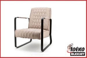 Fauteuil 'Coos' vintage zand