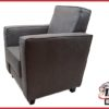 Fauteuil 'Enno' stof antraciet