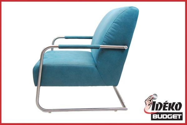 Fauteuil 'Kees' stof Blauw