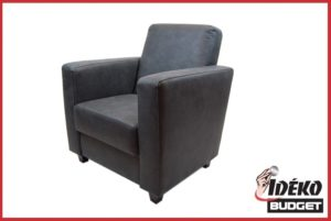 Fauteuil 'King' stof antraciet