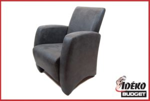 Fauteuil 'Sita' relax antraciet nc