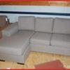 Hoekbank ''Victor'' 3+chaise beige