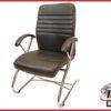 Luxe vergaderstoel/ fauteuil zwart
