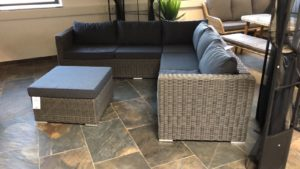"Loungeset wicker ""Barcelona"""