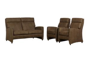 Bank Lucas + fauteuils