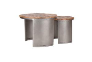 Salontafel Set Bunch 60x60x45 cm