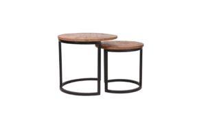 Salontafel Set Duo 50x50x45 cm