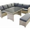 "Loungeset / Diningset wicker ""Ella"""