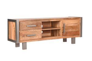 Tv-Meubel Factory 160x45x60 cm mango hout+metaal