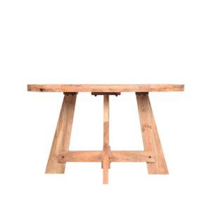 eettafel friends 130x130x76 cm mango hout