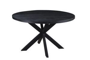 Eettafel Kala black rond- diverse afmetingen